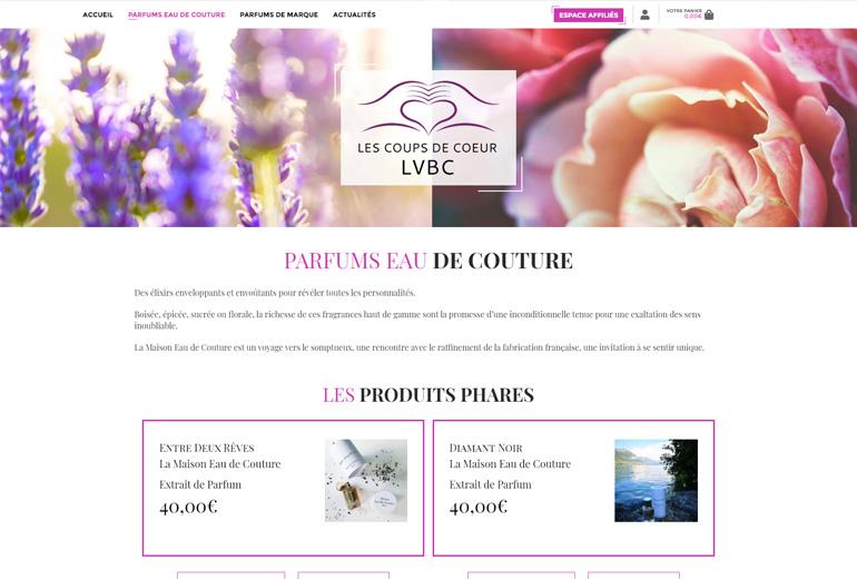 Illustration LVBC : E-Commerce et espace Affiliation