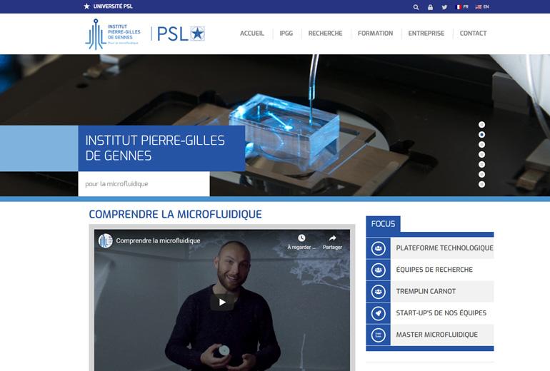 Illustration Focus sur le site Catalogue de l'Institut Pierre-Gilles de Genne