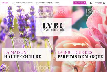 Création de la boutique LVBC